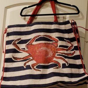NWT Huge Crab Beach bag